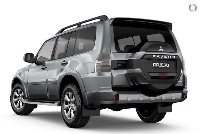 2020 Mitsubishi Pajero GLX NX MY21 4X4 Dual Range Graphite Grey