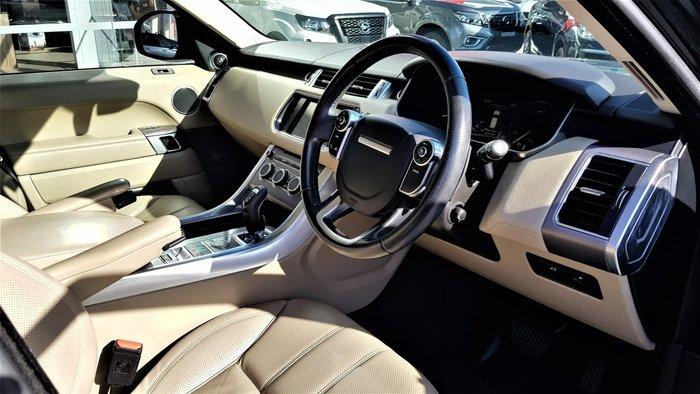 2015 Land Rover Range Rover Sport SDV6 HSE L494 MY15.5 4X4 Dual Range Santorini Black