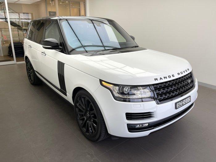 2016 Land Rover Range Rover SDV8 Vogue SE L405 MY17 4X4 Dual Range Fuji White