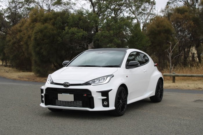 2020 Toyota Yaris GR GXPA16R Four Wheel Drive White
