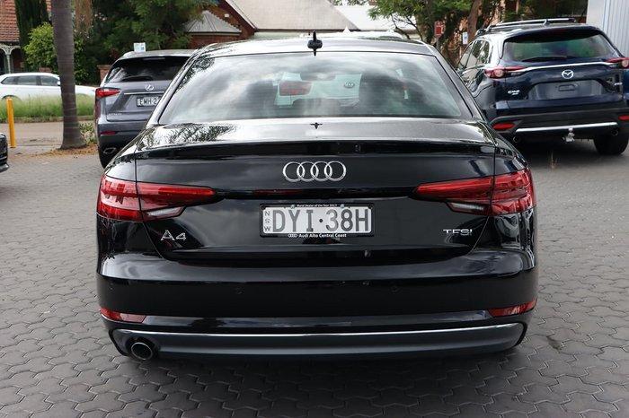 2015 Audi A4 sport B9 MY16 Black