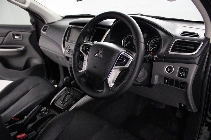 2017 Mitsubishi Triton Exceed MQ MY17 4X4 Dual Range Black