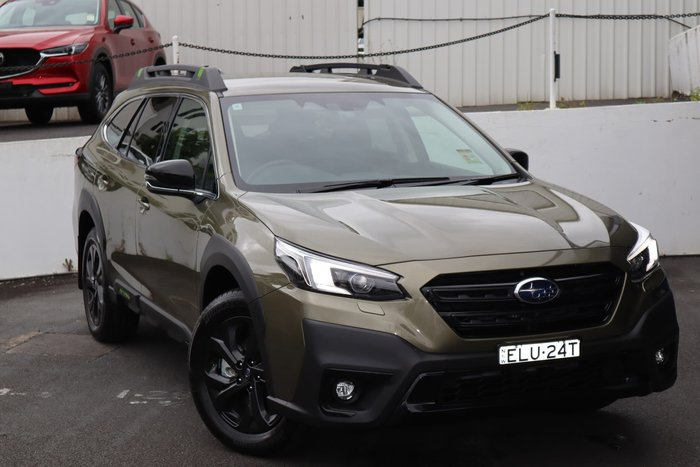 2021 Subaru Outback AWD Sport 6GEN MY21 Four Wheel Drive Autumn Green