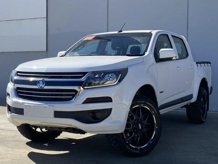 2018 Holden Colorado LS RG MY19 SUMMIT WHITE