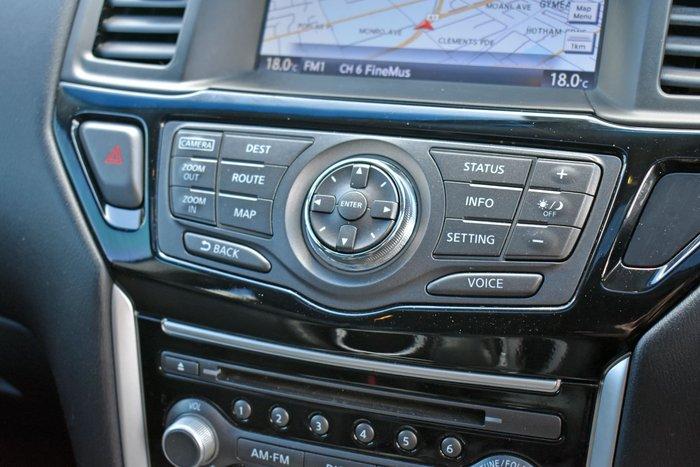 2016 Nissan Pathfinder ST-L R52 Series II MY17 Cayenne Red