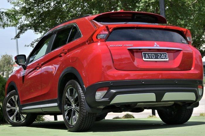 2017 Mitsubishi Eclipse Cross Exceed YA MY18 4X4 On Demand Red