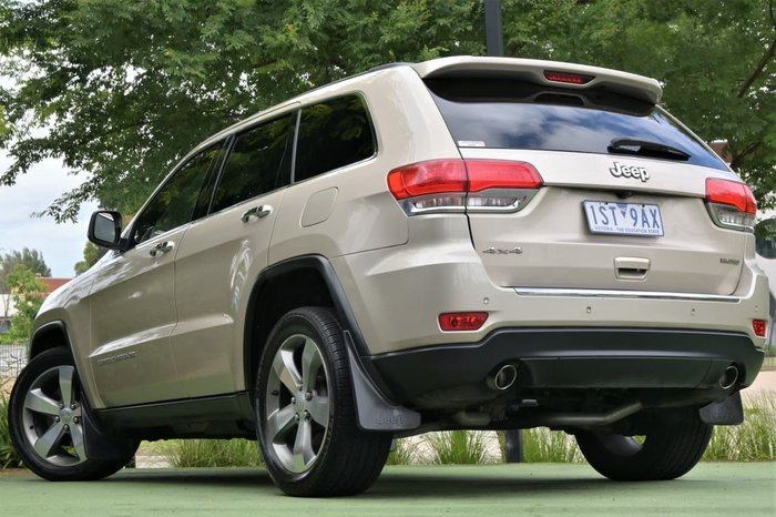 2013 Jeep Grand Cherokee Limited WK MY13 4X4 Constant Gold