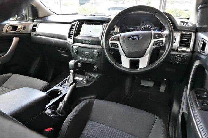 2018 Ford Ranger XLT PX MkIII MY19 4X4 Dual Range Black