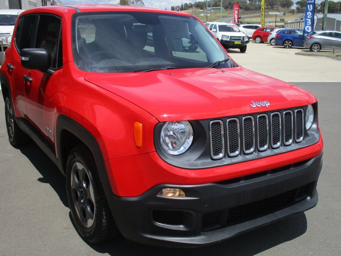 2016 Jeep Renegade Sport BU MY16 Colorado Red