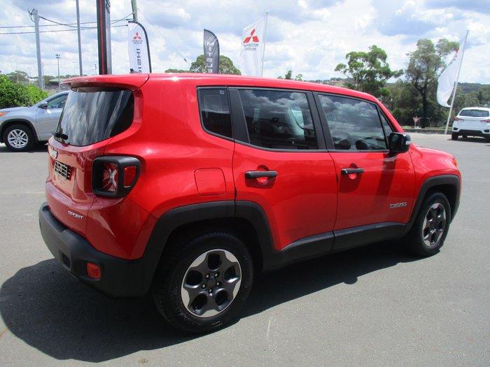 2016 Jeep Renegade Sport BU MY16 Colorado Red