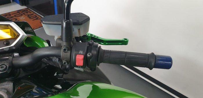2011 Kawasaki Z1000 Green