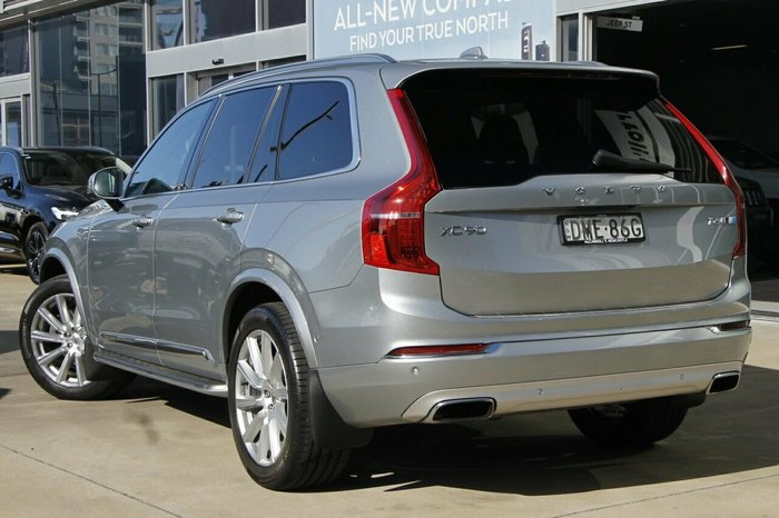 2017 Volvo XC90 T6 Inscription MY17 4X4 On Demand SILVER