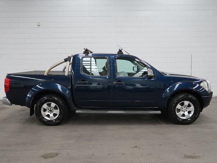 2007 Nissan Navara ST-X D40 4X4 Blue