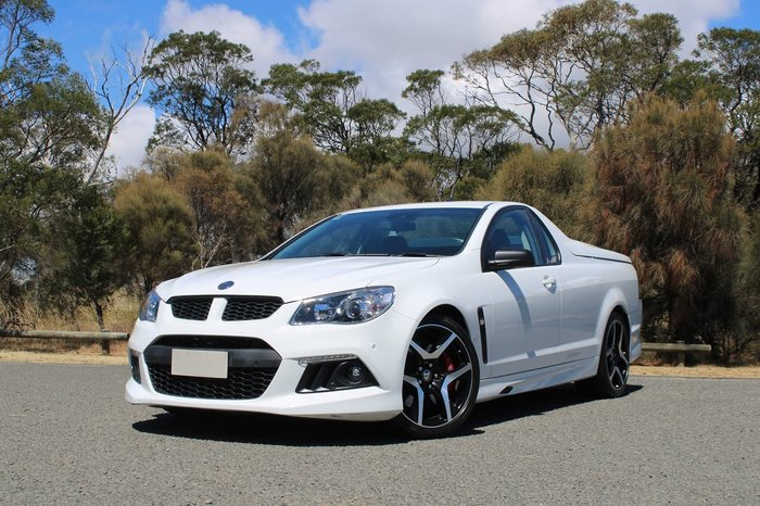 2014 Holden Special Vehicles Maloo R8 GEN-F MY14 White