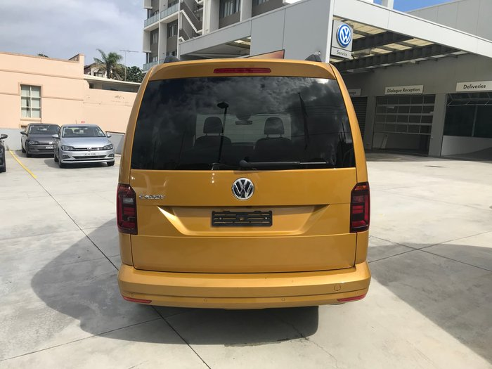 2018 Volkswagen Caddy TSI220 Beach 2K MY19 Sandstorm Yellow