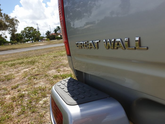 2013 Great Wall V240 K2 MY13 4X4 Sky Silver