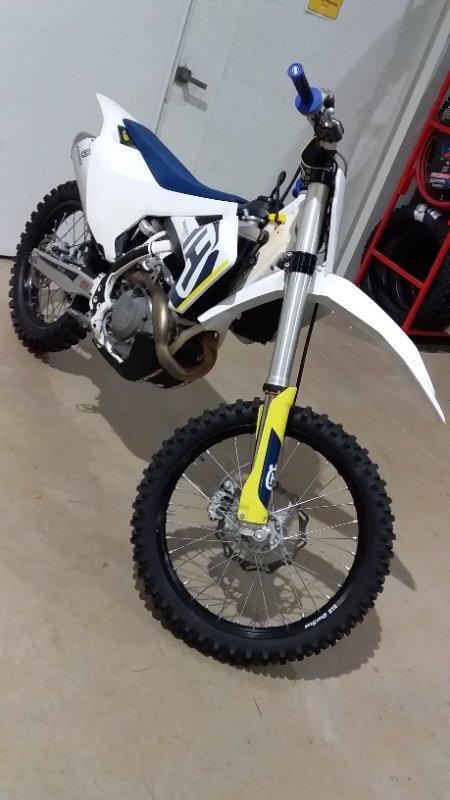2018 HUSQVARNA FC450 White