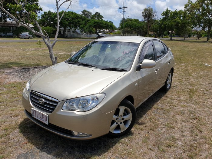 2009 Hyundai Elantra Elite HD Gold