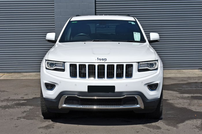 2015 Jeep Grand Cherokee Limited WK MY15 4X4 Dual Range Bright White