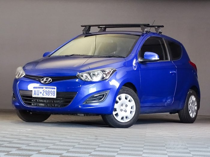 2014 Hyundai i20 Active PB MY14 Blue