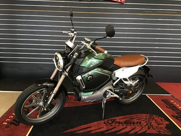 2020 Super Soco TC CAFE RACER Green