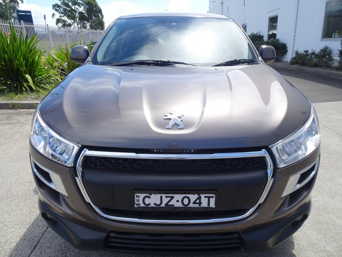 2013 Peugeot 4008 Active MY13 Titanium Grey