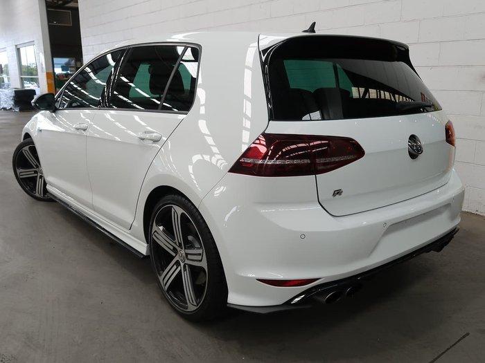 2017 Volkswagen Golf R 7 MY17 Four Wheel Drive White