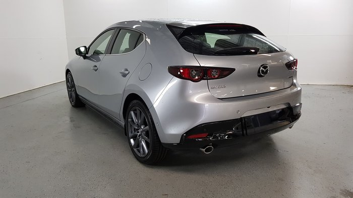 2020 Mazda 3 G20 Touring BP Series Sonic Silver