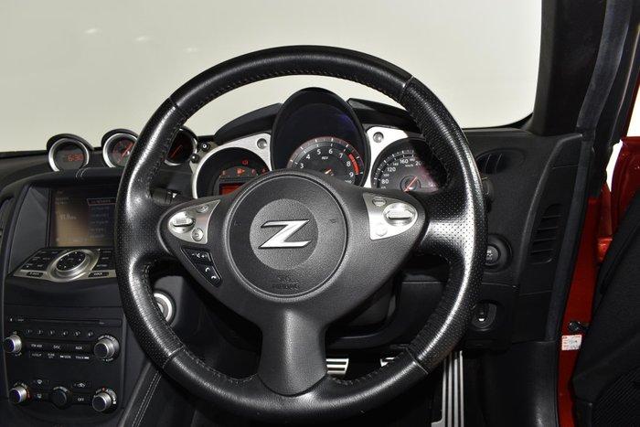2015 Nissan 370Z Z34 MY15 Red