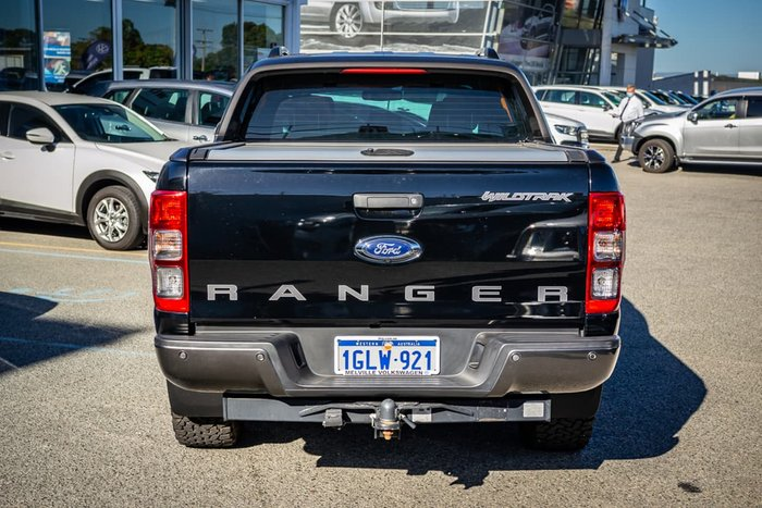 2018 Ford Ranger Wildtrak PX MkII MY18 4X4 Dual Range Black