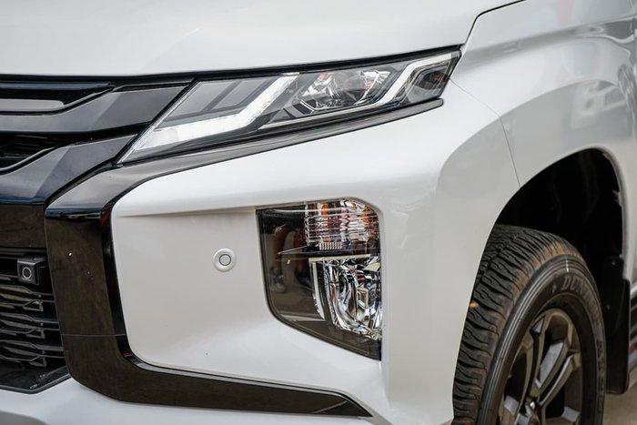 2020 Mitsubishi Triton GSR MR MY21 4X4 Dual Range White