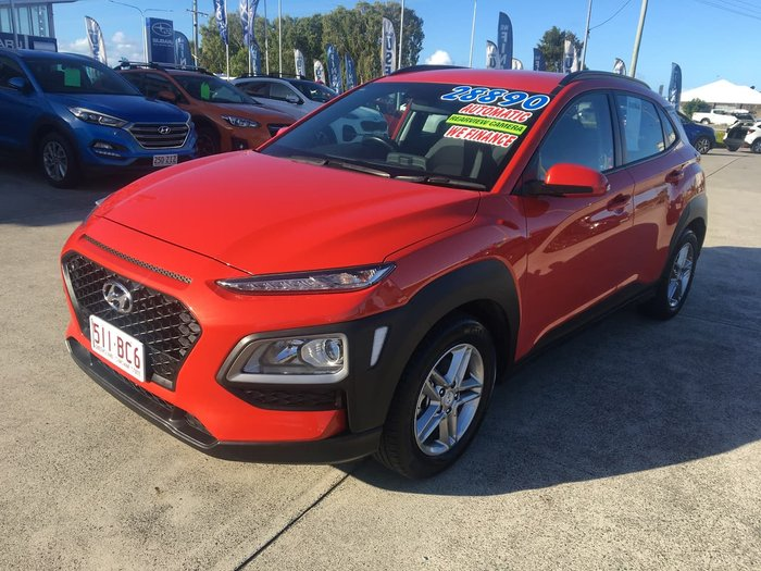 2018 Hyundai Kona Active OS MY18 Orange