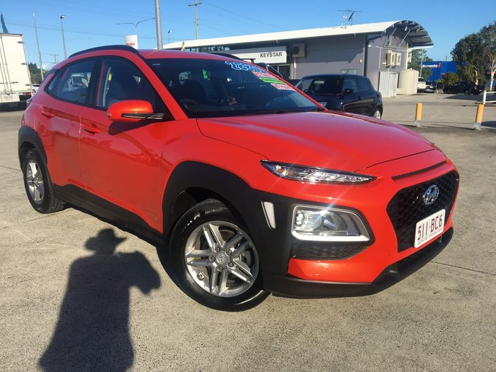 2018 Hyundai Kona Active OS MY18 Orange