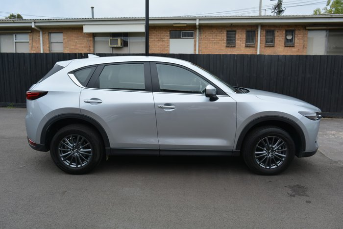 2018 Mazda CX-5 Touring KF Series 4X4 On Demand Sonic Silver