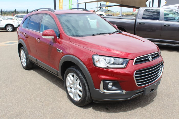 2017 Holden Captiva Active CG MY17 Red-E or Not