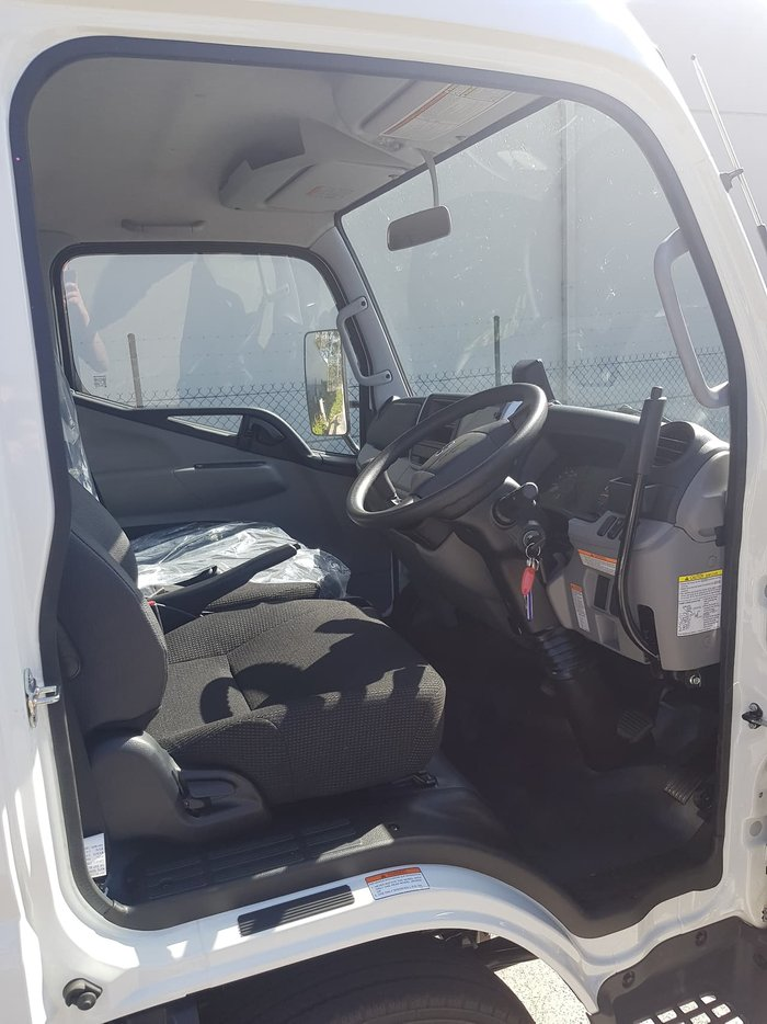 2021 FUSO CANTER 615 615 FACTORY TIPPER White