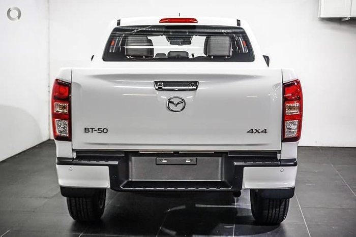2020 Mazda BT-50 GT TF 4X4 Dual Range Ice White