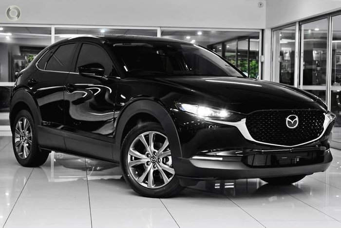 2020 Mazda CX-30 G20 Astina DM Series Jet Black