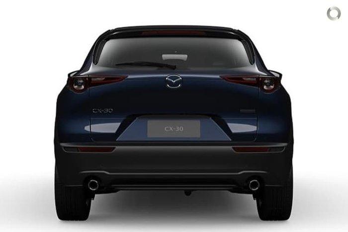 2020 Mazda CX-30 G25 Astina DM Series 4X4 On Demand Deep Crystal Blue