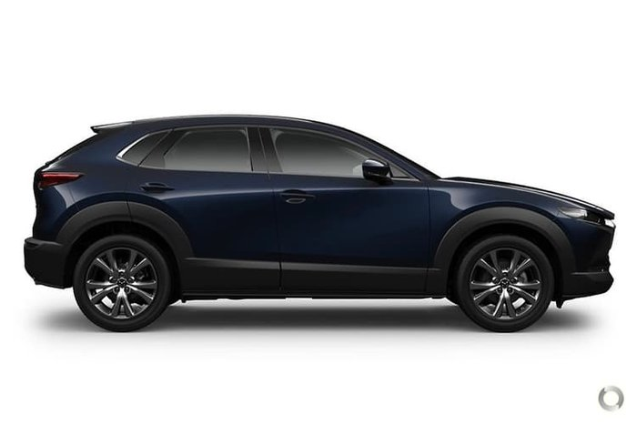 2020 Mazda CX-30 G25 Astina DM Series 4X4 On Demand Deep Crystal Blue