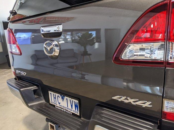 2016 Mazda BT-50 GT UR 4X4 Dual Range Aluminium