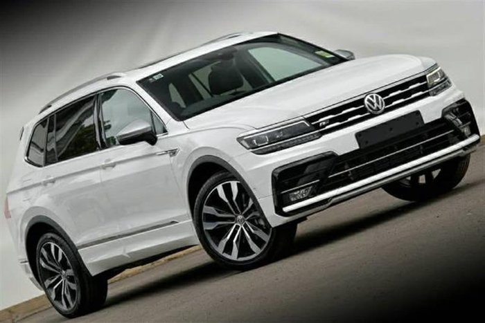 2020 Volkswagen Tiguan 140TDI Highline Allspace 5N MY21 Four Wheel Drive White