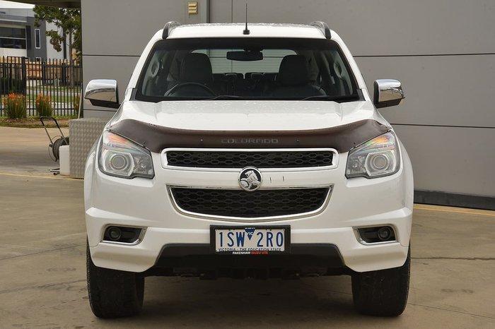 2016 Holden Colorado 7 Trailblazer RG MY16 4X4 Dual Range White