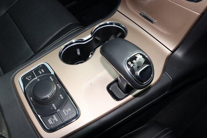 2015 Jeep Grand Cherokee Overland WK MY15 4X4 Dual Range Silver