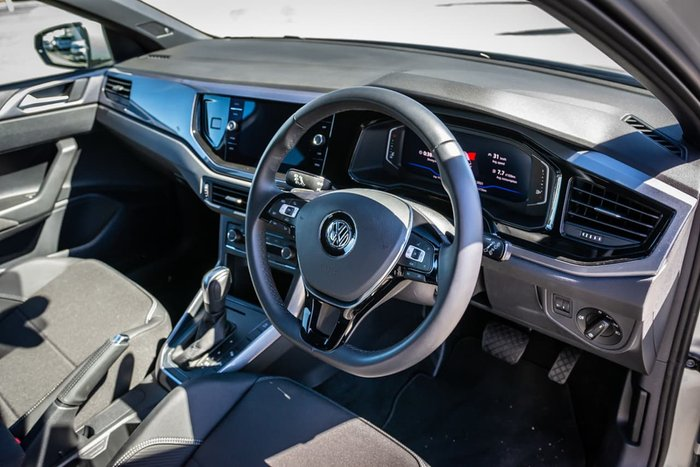 2019 Volkswagen Polo 85TSI Style AW MY20 Silver