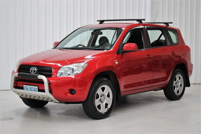 2007 Toyota RAV4 CV ACA33R 4X4 On Demand Red