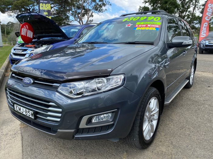 2015 Ford Territory TS SZ MkII Smoke
