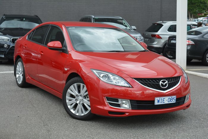 2008 Mazda 6 Classic GH Series 1 Velocity Red
