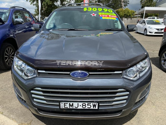 2015 Ford Territory TS SZ MkII Grey
