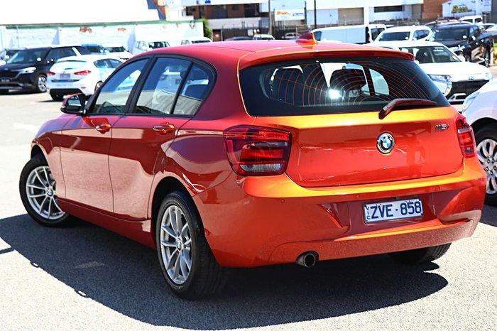 2013 BMW 1 Series 116i F20 Orange